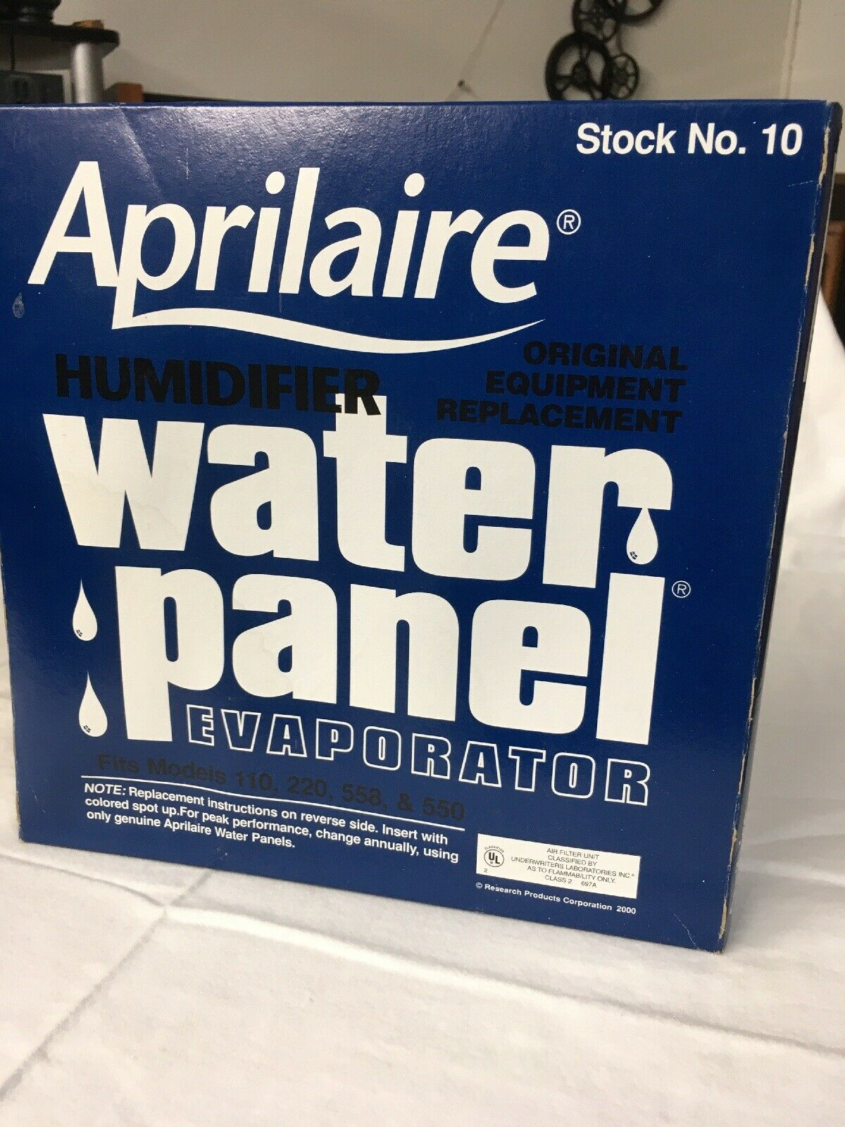 # 10 Aprilaire OEM #10 Humidifier water panel 500,500a,500m,550,550a,558,110