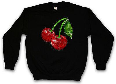 OLDSCHOOL CHERRIES VINTAGE LOGO I TANK TOP Cherry Rockabilly Tattoo Kirschen