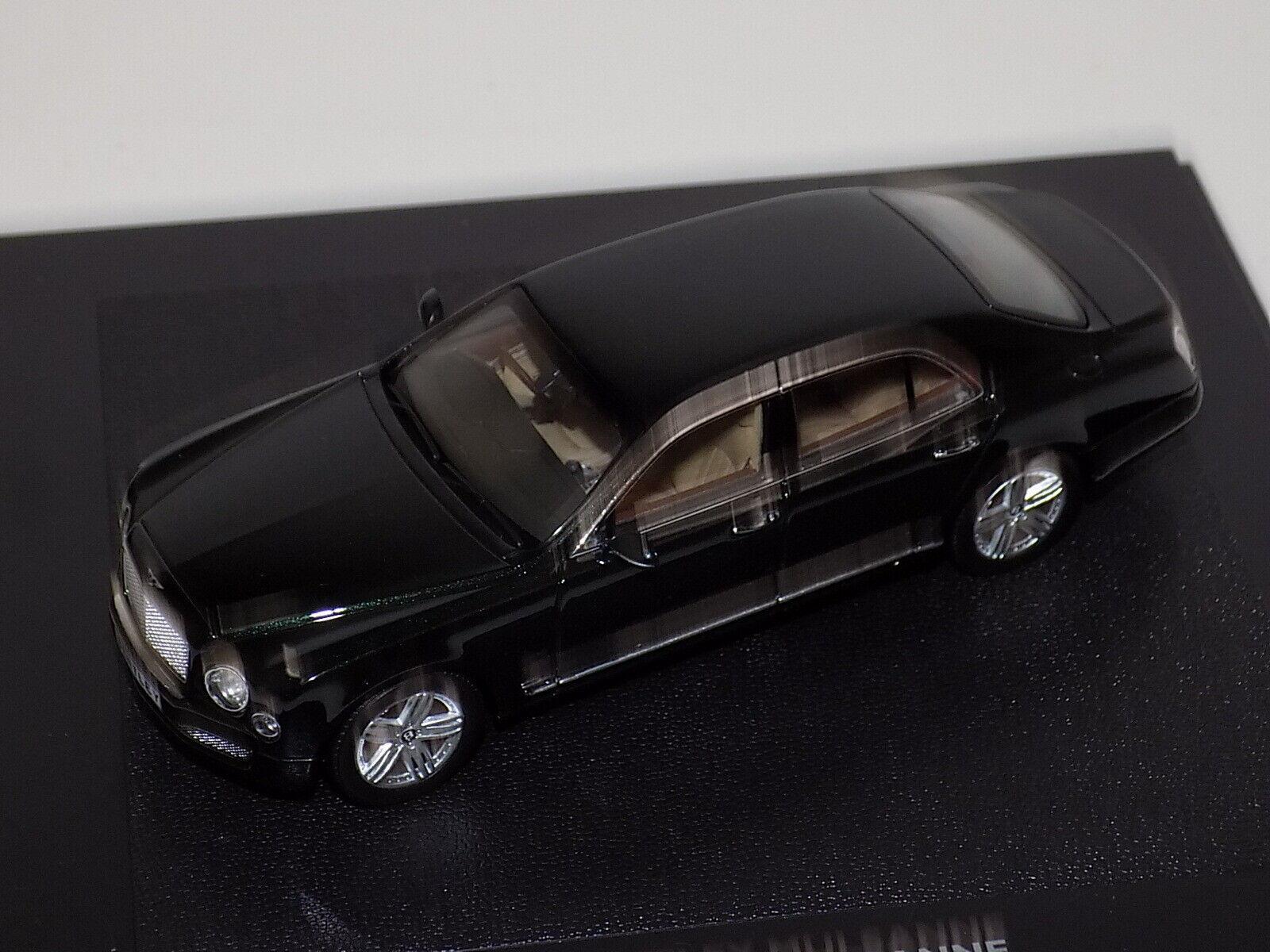 1 43 Minichamps Bentley Mulsanne en Met verde Distribuidor edición caja de regalo BL771