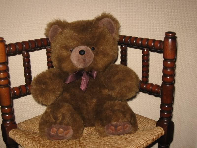 Vintage Vendex Foods Holland Grumpy Teddy Bear 14 inch