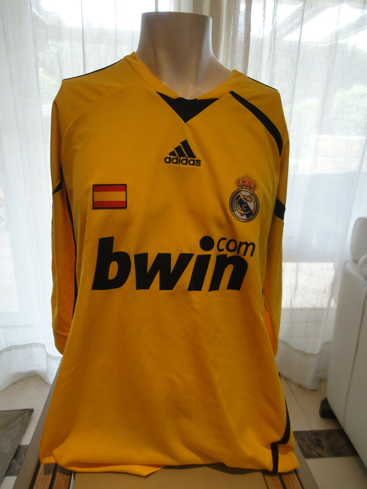 Camiseta Casillas portero Real Madrid   Spain shirt (2008-2009)