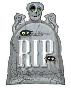 HALLOWEEN-BALLOON-29-034-RIP-TOMBSTONE-HORROR-PARTY-SUPPLIES-ANAGRAM-FOIL-BALLOON