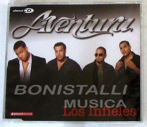 AVENTURA - LOS INFIELES - CD Single Sigillato Enhanced - Italia - AVENTURA - LOS INFIELES - CD Single Sigillato Enhanced - Italia