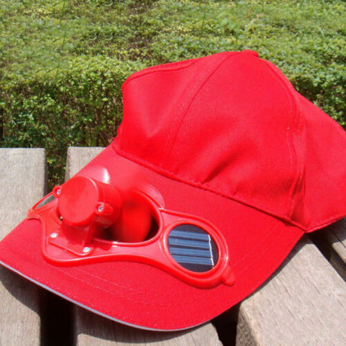 Solar Power Cap With Cooling Fan for Outdoor Mountain Climbing Baseball Hat