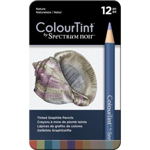 Spectrum Noir Nature ColourTint Arts /& Crafts Pencil Set 12Pk