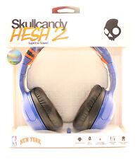 Skullcandy Hesh 2 Over-Ear Headphones w/Mic (NBA New York Knicks Blue Orange)