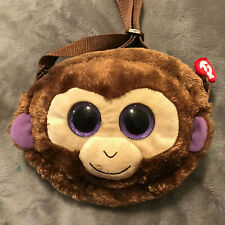 Ty Beanie Babies 95222 Ty Gear Coconut the Monkey Boo Purse Wristlet Sequined