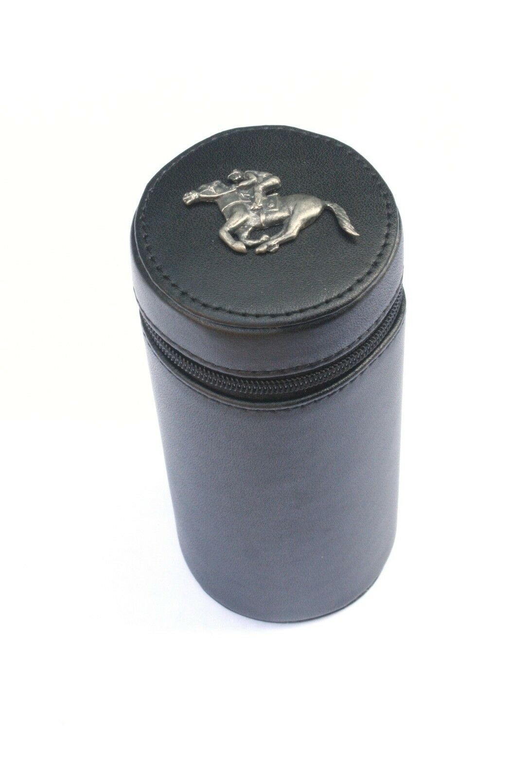 Horse Racing Shooting Peg Position Finder Numberojo Cups 1-10 negro Leather Case