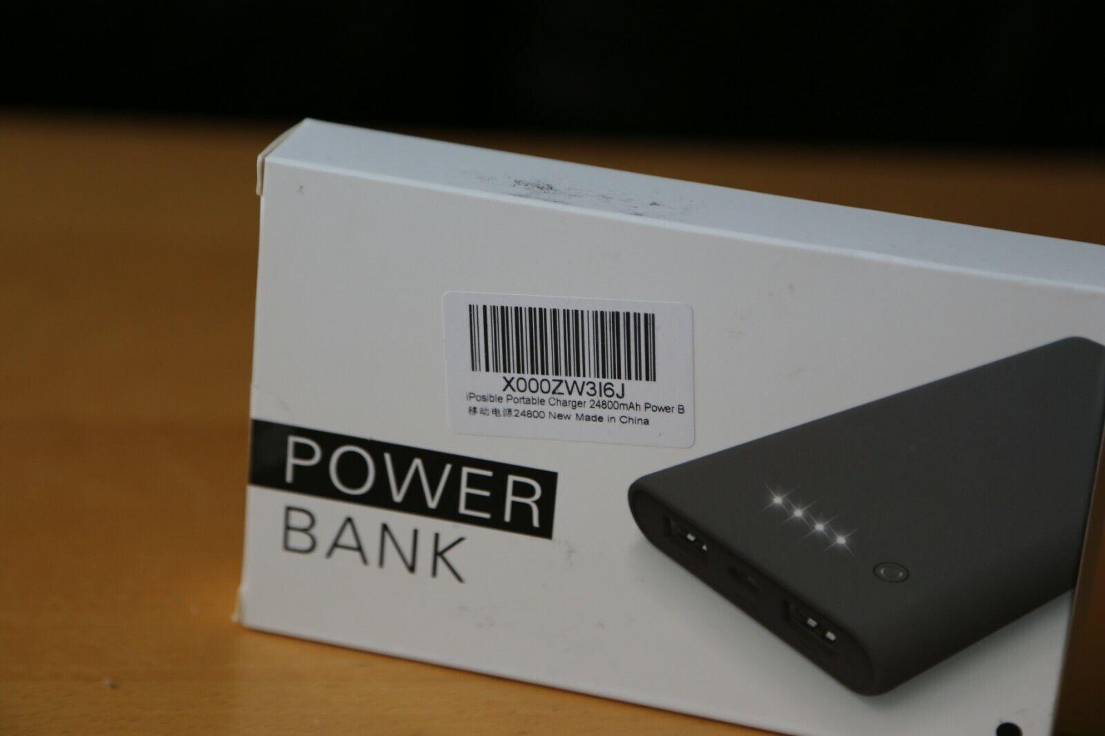 iPosible Power Bank, Portable Charger