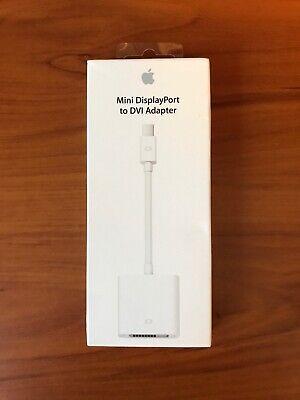 Genuine Original Apple Mini Display Port to DVI Adapter MB570LL//B Model A1305