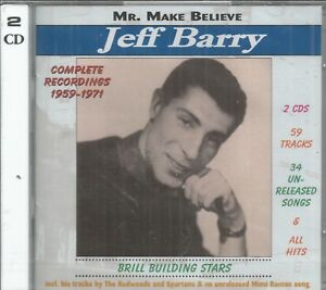 JEFF-BARRY-CD-Complete-Recordings-Mr-Make-Believe-Brand-New-on-Brill-Tone