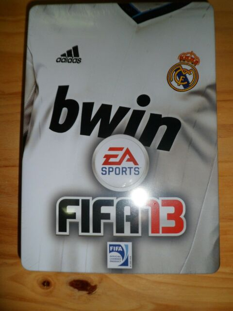 FIFA 13 PS3 Edición Real Madrid CF Steel Box Nuevo Luca Modric Football soccer.