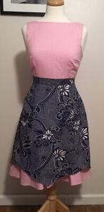 Vintage-Apron-Vintage-Cotton-Blue-And-White-Apron-Vintage-Linens