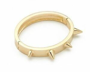 Image Is Loading Cc Skye Love Spike Bracelet In Gold