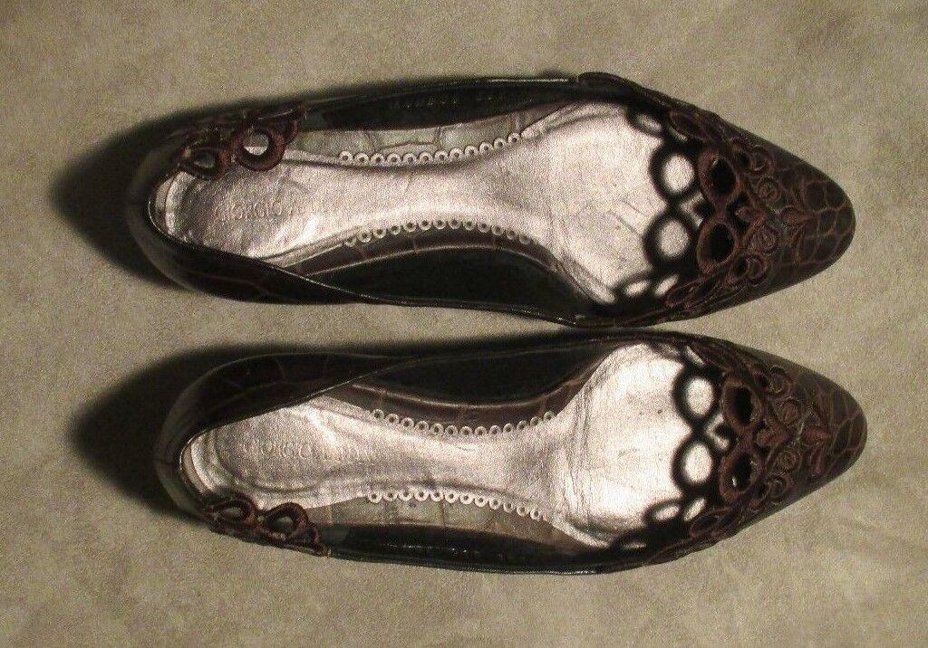punti vendita GIOGIO ARMANI donna LEATHER scarpe Dimensione Dimensione Dimensione 36-1 2  ORIGINAL PRICE  550  vendita scontata online di factory outlet