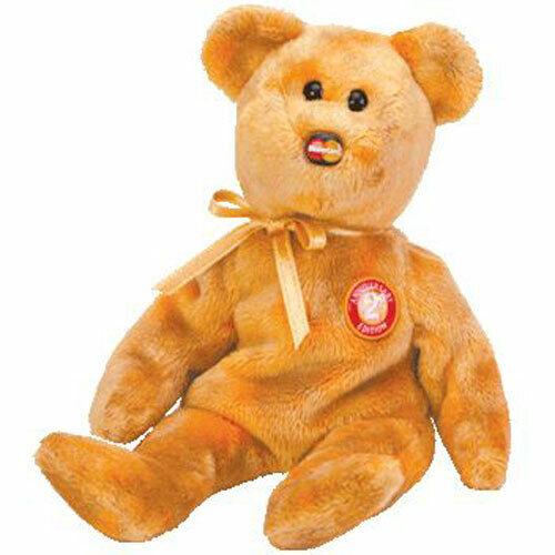 TY Beanie Baby MC MASTERCARD Bear Anniversary Edition #2 MWMTs CC Ex