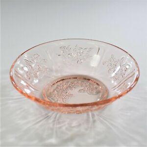 Federal-Glass-Sharon-Pink-Small-Fruit-Dessert-Bowl
