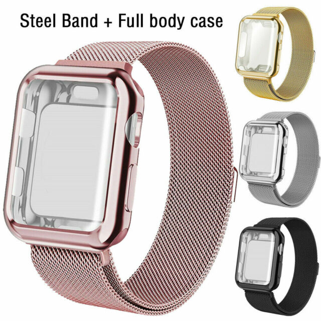 Apple Watch Case 44mm Series 4 With Silicone Sport Strap Band Shockproof White For Sale Online Ebay