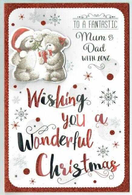 BOYFRIEND ~ Quality CHRISTMAS CARD ~ FAB VERSES CHOICE OF DESIGN