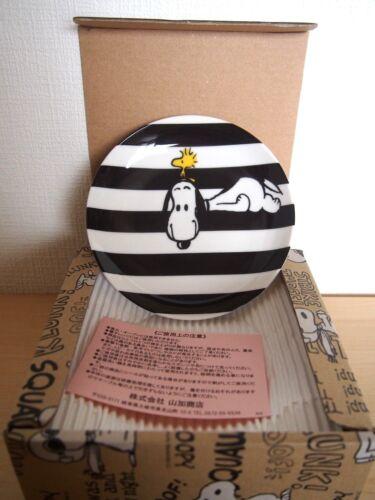 Peanuts Snoopy Monotone Ware Fünf Teller Set 14 2cm Japan