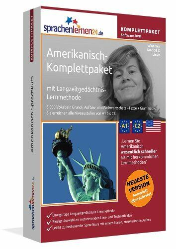 Amerikanisch Sprachkurs Komplettpaket Software DVD