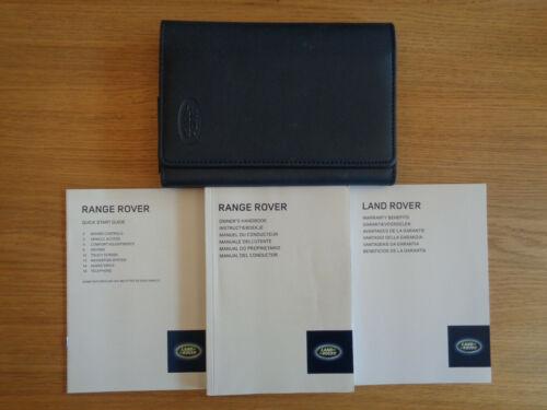 RANGE ROVER I Proprietari Manuale Manuale e Portafoglio 13-17