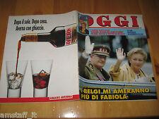 OGGI 1993/34=ELEONORA GIORGI=FEDERICO FELLINI=GIANNI RIVERA=OMBRETTA COLLI=
