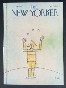 The-New-Yorker-Magazine-October-24-1977-Tallon-COVER-ONLY