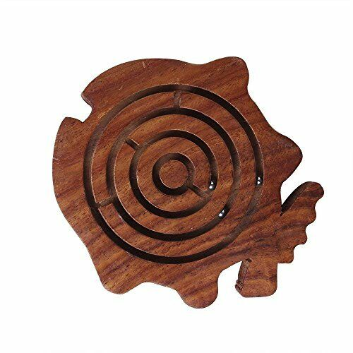 Storeindya Diwali Gift Ideas Wooden Labyrinth Puzzle Ball Board Maze Game Games