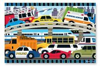 Melissa And Doug Traffic Jam Floor Puzzle 2`x3` , New, Free Shipping
