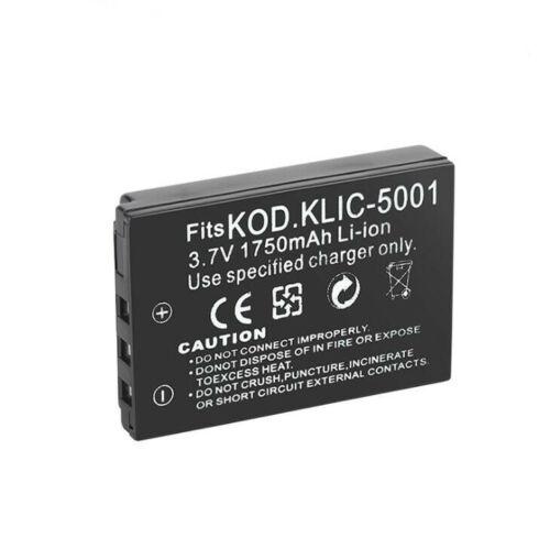 5001 Batería Para Kodak CX7440 DX7630 DX7440 DX7590 P712 P880 Z730 Z7590 KLIC