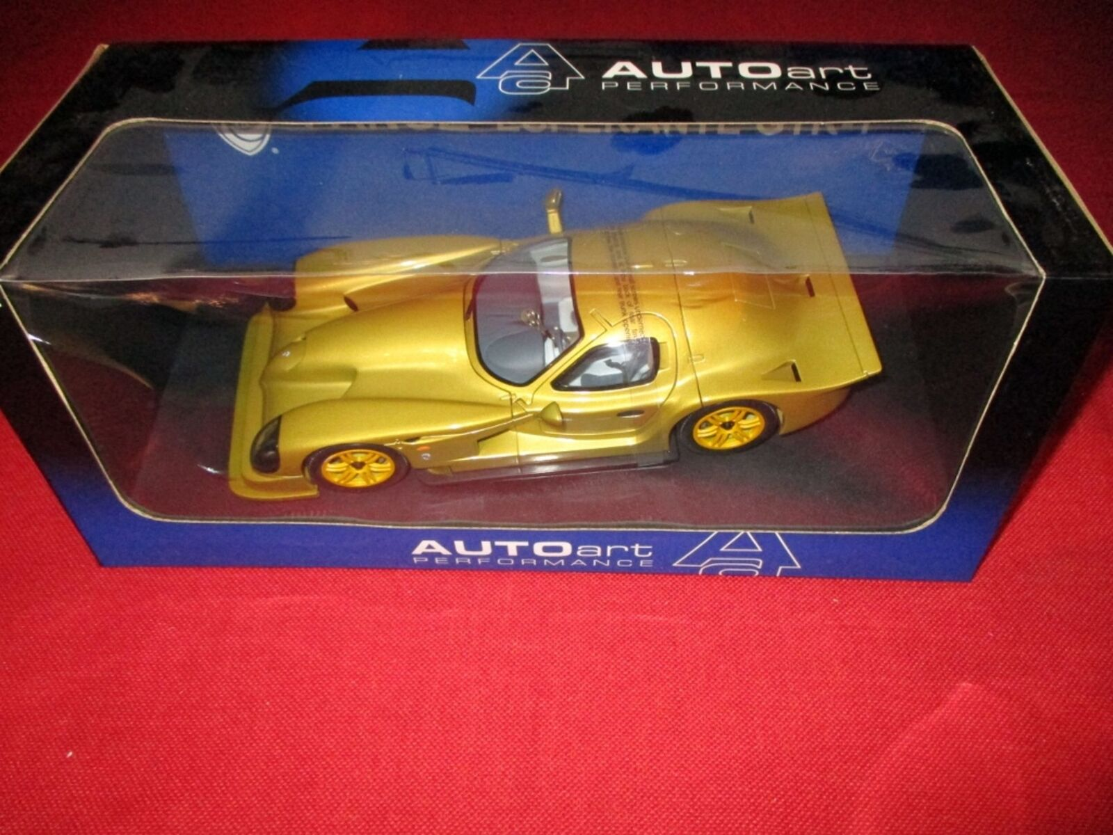 AUTOart™ PERFORMANCE 78202 1 18 Panoz Esperante GTR-1 Street Car '98 NEU OVP