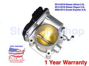 Red Throttle Body Spacer for 07-12 Nissan ALTIMA  ROGUE SENTRA SE-R Spec V 2.5L