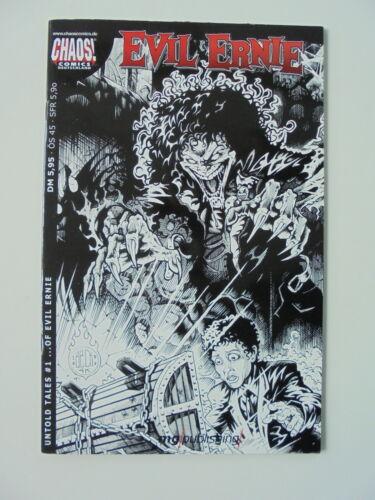 Comics Top Zustand. Untold Tales Chaos EVIL ERNIE Heft Nr #1
