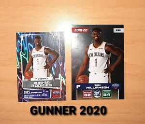 Zion Williamson rookie card and sticker RC new perfect 2019 NBA PSA 10? 🇺🇲🇺🇲