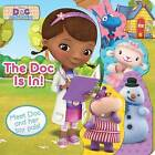 Disney Layered Board Book, the Doc is in! by Parragon Book Service Ltd (Board book, 2015)