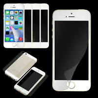 12 pcs=6*(Front+Back) HD Clear Screen Protector Cover Guard Film For IPhone 5 5S