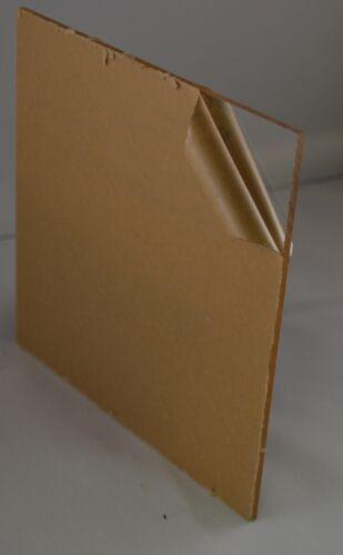"Acrylic Clear Sheet Plexiglass Replacement Glass 1//8 x 46/"" x 35/"""