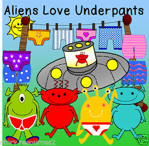 Image Is Loading Aliens Love Underpants Story Teaching Resources E Topic