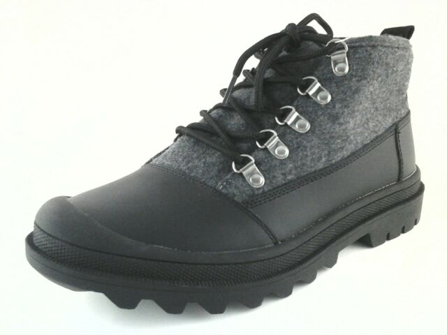 b18c8d47ca9 Toms Black Wool With Leather Men's Cordova BOOTS - Size US 10
