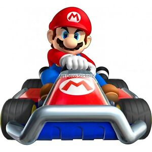Largeur 50cm Stickers Mario Kart 6224