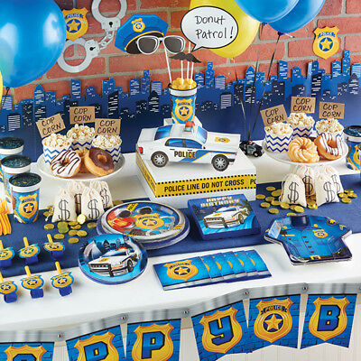 Police Party Lunch Napkins 16 Per Pack Birthday Party Decorations
