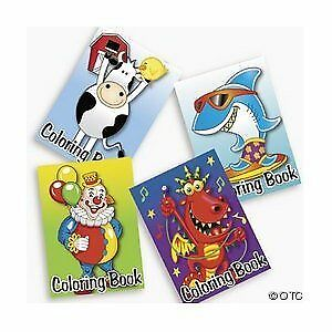 Details about NEW 72 pack of Bulk Kids Coloring Books ~ Great Party Favors!  Assorted Designs