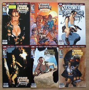 LARA CROFT Tomb Raider Journeys Sammlung 0 1 2 3 4 5 Top Cow Image GAMIX deutsch