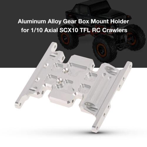 Hohe Qualität Aluminiumlegierung Getriebe Halterung für 1//10 Axial SCX10 B6R5
