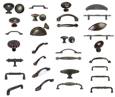 Oil Rubbed Bronze S Pulls Kitchen Cabinet Handles