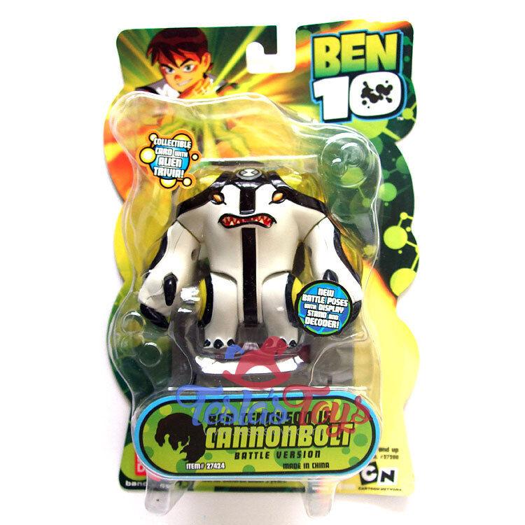 Ben 10 Classic Action Figure - Cannonbolt (battle Version)