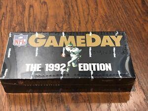1992 GameDay Football Sealed Box, 36 Pack, Dan Marino, Barry Sanders, Jerry Rice