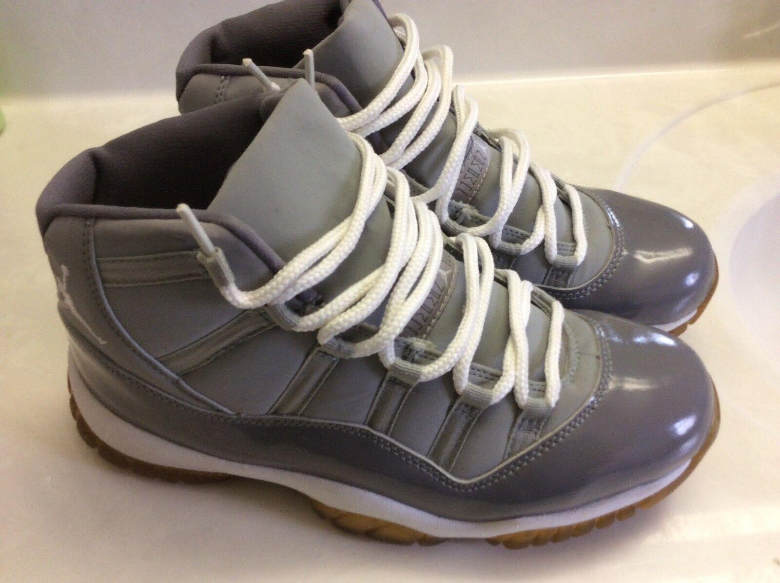 2001 Jordan Retro 11 Cool Grey size 10