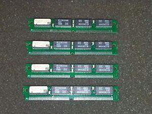 4x-EDI8F3265C15MNC-2Mbit-64K-x-32-64-PIN-SIMM-CMOS-TTL-COMPATIBLE-SRAM-MODULES